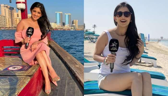 IPL માં મેચ નહીં પણ આ છોકરીને જોવા ટીવી સામે બેસી રહે છે લોકો! જેણે આખા UAE નું Temperature કર્યું છે ગરમ!