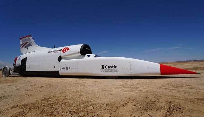 ધરતી પર સૌથી વધુ ઝડપે દોડતી કાર, ફાઈટર પ્લેનના એન્જિનથી ચાલે છે આ કાર